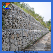 Galvanizado Rock cesta Hexagonal Wire Mesh Gabion Box para venda